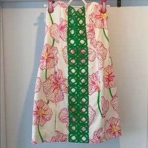 NWOT Lily Pulitzer strapless dress
